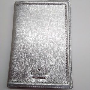 Kate Spade New Patterson Drive Silver Card Holder